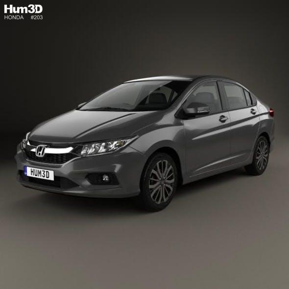 Honda City 2017 - 3DOcean Item for Sale
