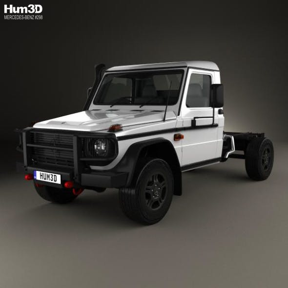 Mercedes-Benz G-Class (W463) Single Cab Chassis 2017 - 3DOcean Item for Sale