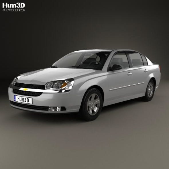 Chevrolet Malibu 2004 - 3DOcean Item for Sale