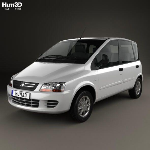 Fiat Multipla 2006 - 3DOcean Item for Sale