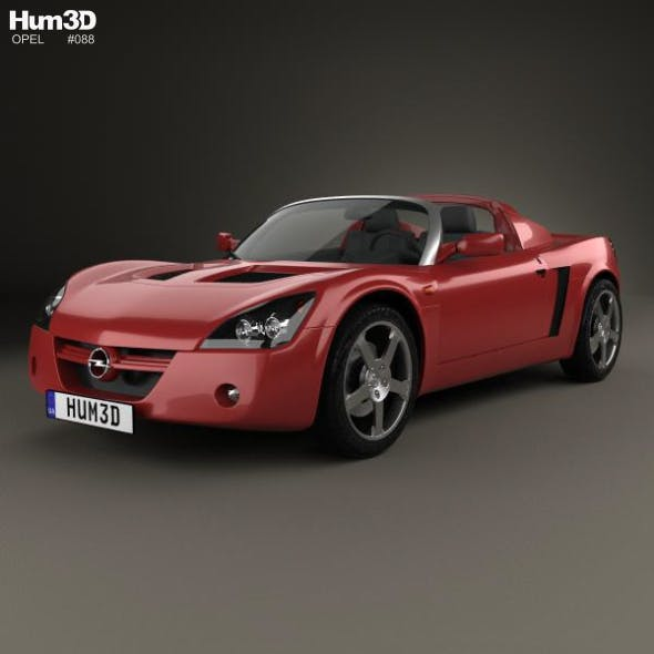 Opel Speedster 2000 - 3DOcean Item for Sale