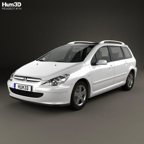 Peugeot 307 SW 2001 - 3DOcean Item for Sale