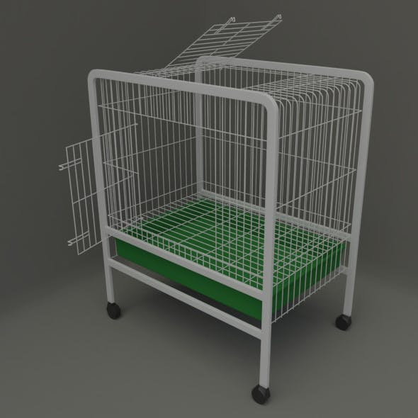 Cage for small pet - 3DOcean Item for Sale