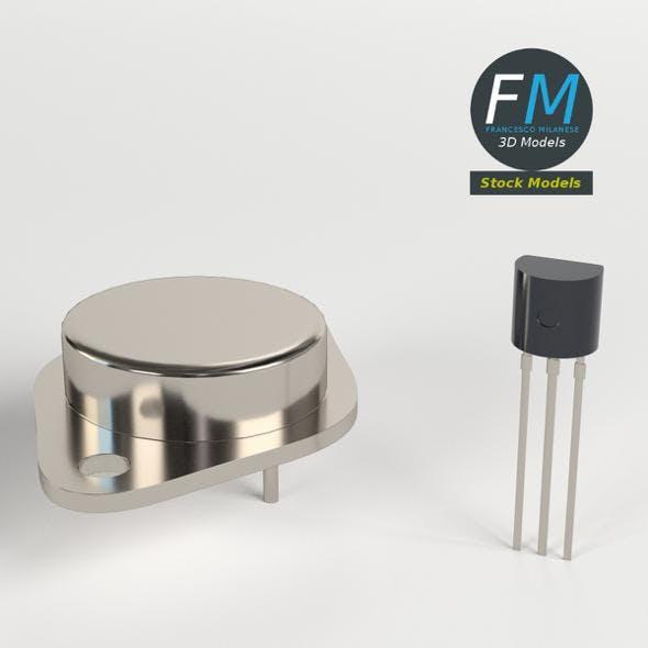 Transistors - 3DOcean Item for Sale