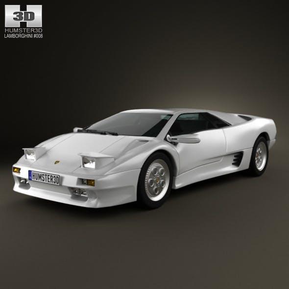 Lamborghini Diablo VT 1993  - 3DOcean Item for Sale