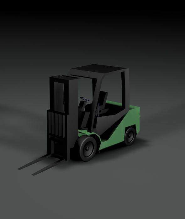 loader machine - 3DOcean Item for Sale
