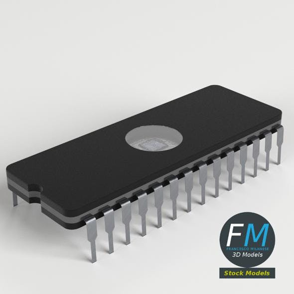 EPROM chip - 3DOcean Item for Sale