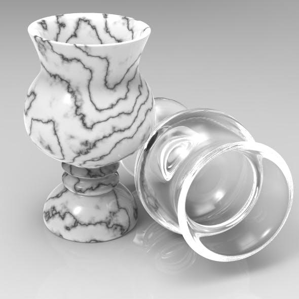 Elegant Modern Liqueur Glass - 3DOcean Item for Sale