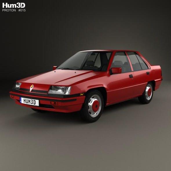 Proton Saga 1985 - 3DOcean Item for Sale