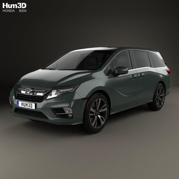 Honda Odyssey Elite 2018 - 3DOcean Item for Sale