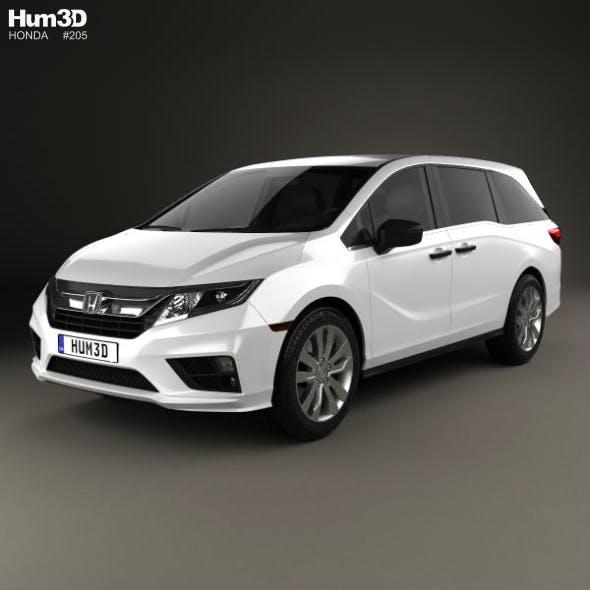 Honda Odyssey LX 2018 - 3DOcean Item for Sale