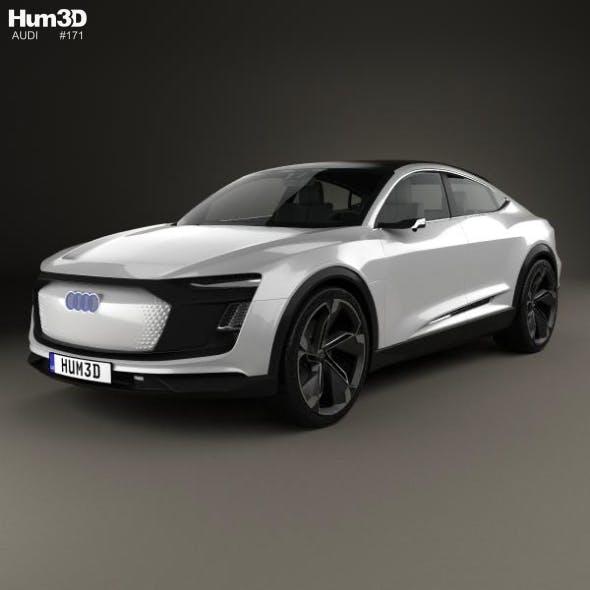 Audi E-tron Sportback 2017 - 3DOcean Item for Sale