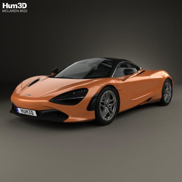McLaren 720S 2017 - 3DOcean Item for Sale