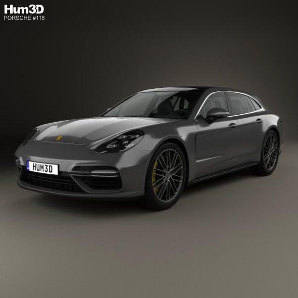Porsche Panamera Sport Turismo Turbo 2017