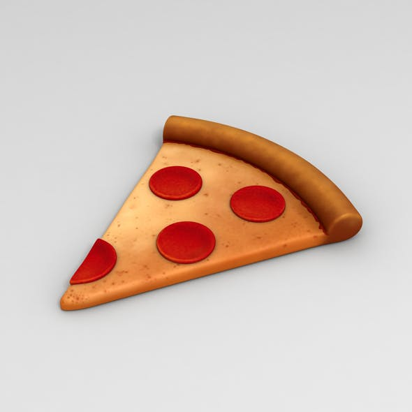 Pizza - 3DOcean Item for Sale