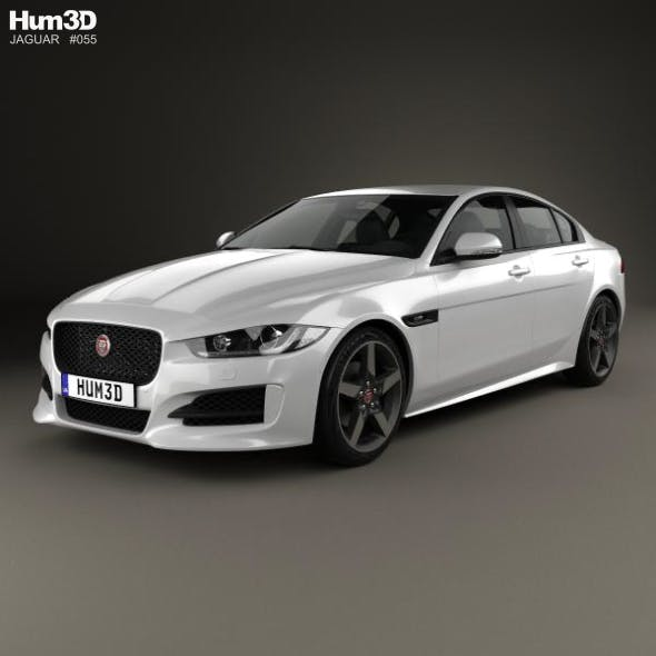 Jaguar XE R-Sport 2017 - 3DOcean Item for Sale