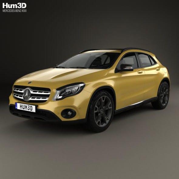Mercedes-Benz GLA-Сlass (X156) 2017 - 3DOcean Item for Sale