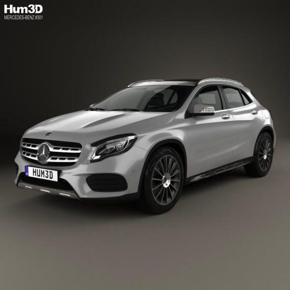 Mercedes-Benz GLA-Сlass (X156) AMG Line 2017 - 3DOcean Item for Sale