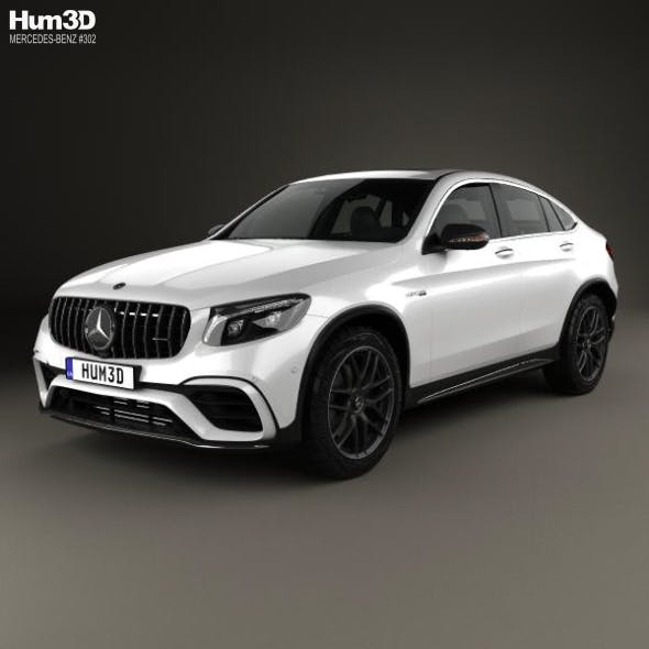 Mercedes-Benz GLC-Class (C253) Coupe S AMG 2017 - 3DOcean Item for Sale