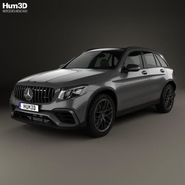 Mercedes-Benz GLC-Class (X205) S AMG 2017 - 3DOcean Item for Sale