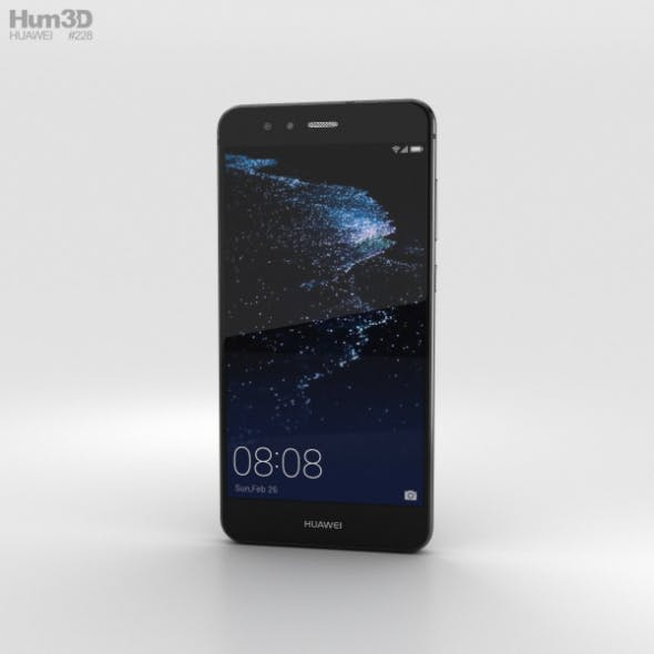 Huawei P10 Lite Graphite Black - 3DOcean Item for Sale