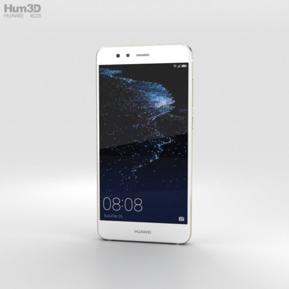 Huawei P10 Lite Pearl White - 3DOcean Item for Sale