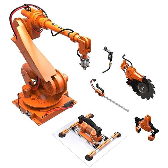 Manipulator Robot - 3DOcean Item for Sale