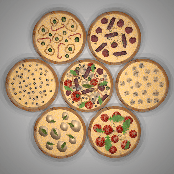 Assorted Pizza Set
