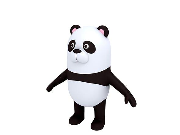 Panda Character - 3DOcean Item for Sale