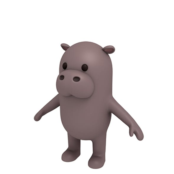 Hippopotamus Character
