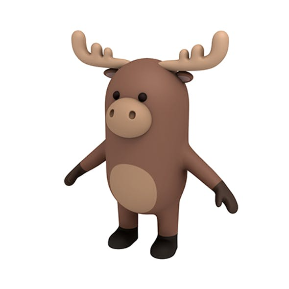 Moose Character