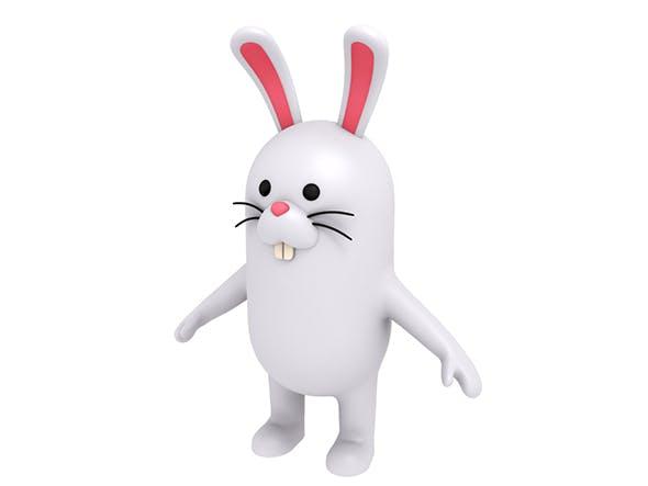 Rabbit Character - 3DOcean Item for Sale