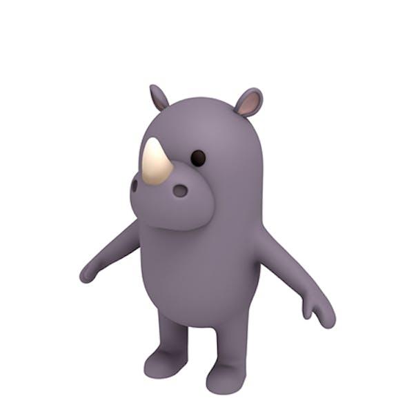 Rhinoceros Character
