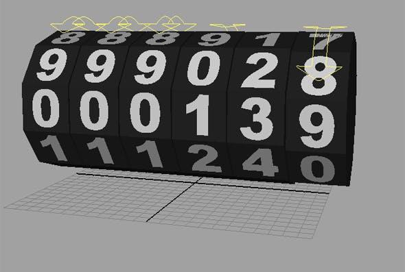 Odometer - 3DOcean Item for Sale