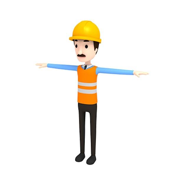 CartoonMan001 Engineer