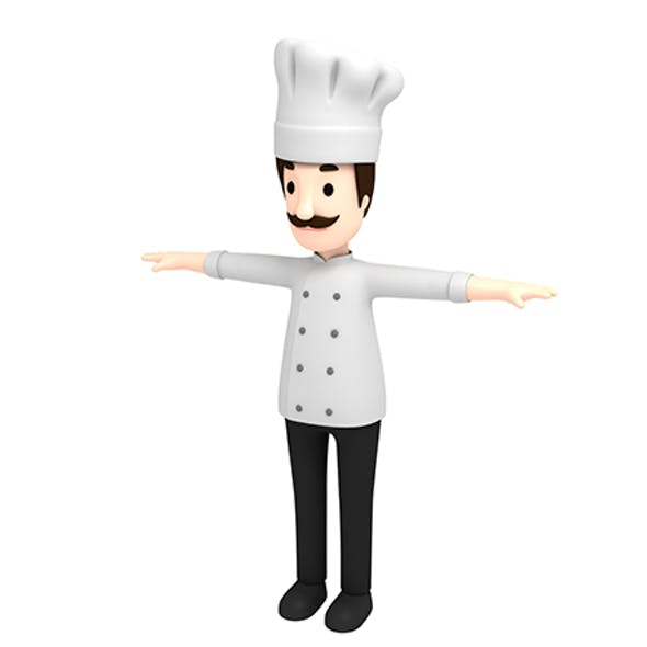 CartoonMan003 Chef