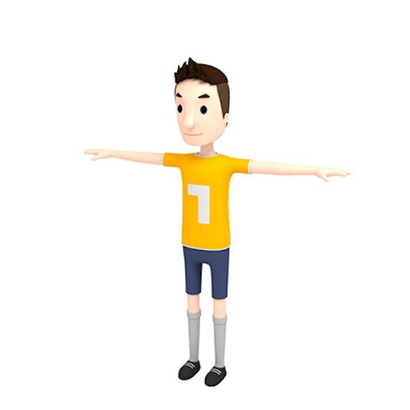 CartoonMan005 SoccerPlayer