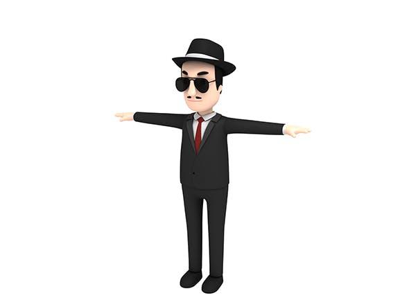 CartoonMan008 Mafia - 3DOcean Item for Sale