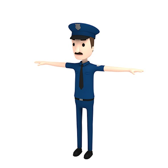 CartoonMan010 Police