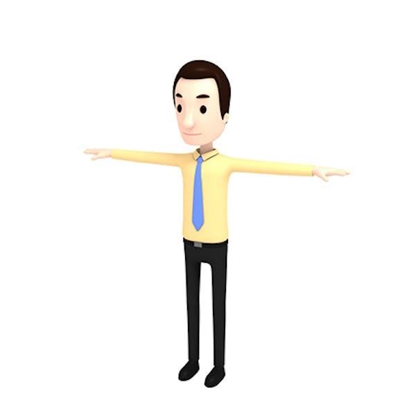 CartoonMan015 OfficeMan