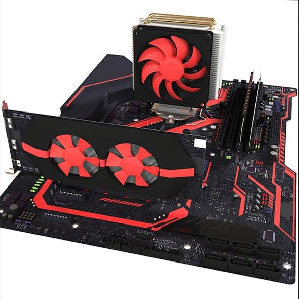 Computer part - 3DOcean Item for Sale