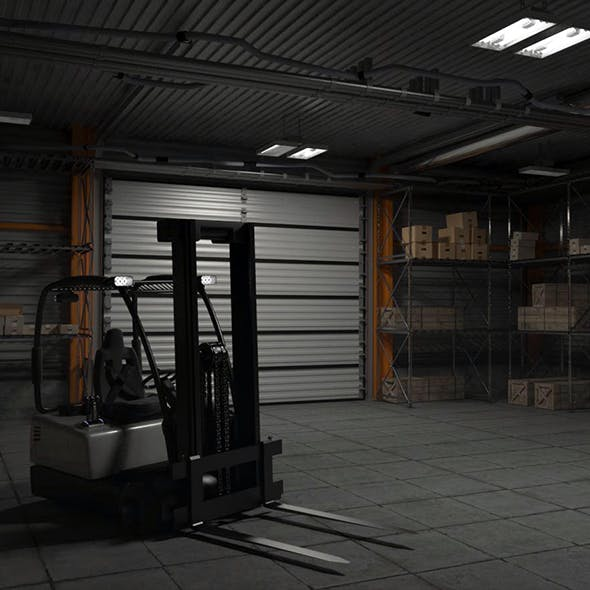 Warehouse - 3DOcean Item for Sale