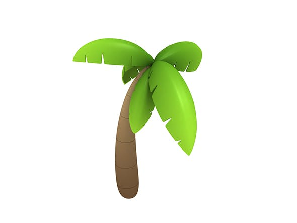 Coconut tree - 3DOcean Item for Sale