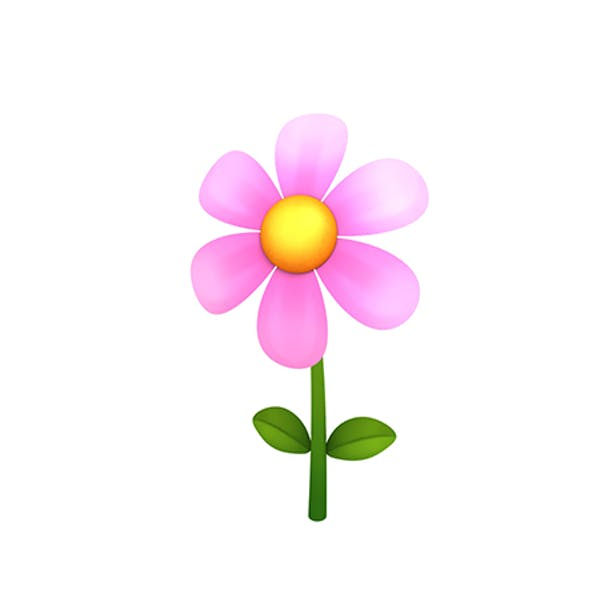 Low-poly Flower