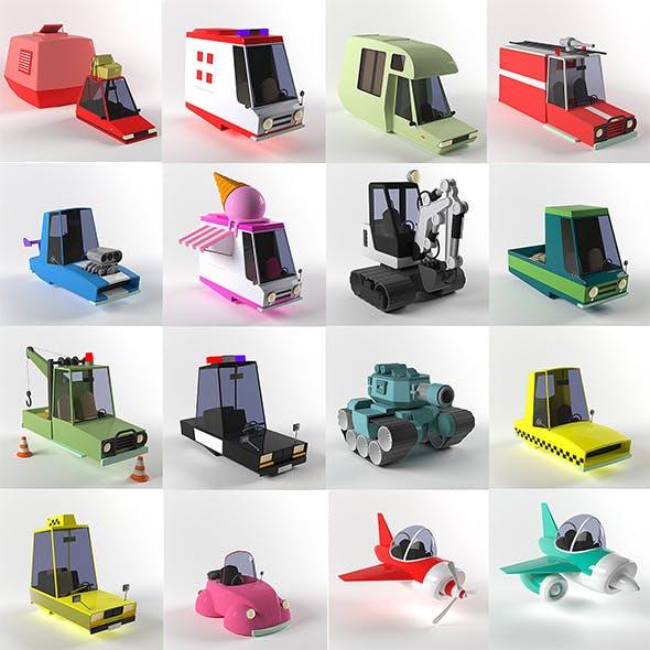 Car_game - 3DOcean Item for Sale