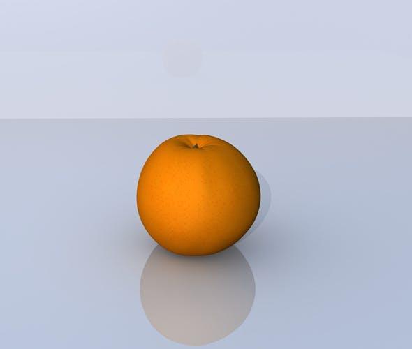 Orange 3D Model - 3DOcean Item for Sale