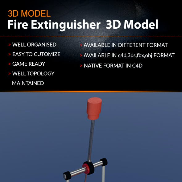 Drums Kick Paddle 3D Model
