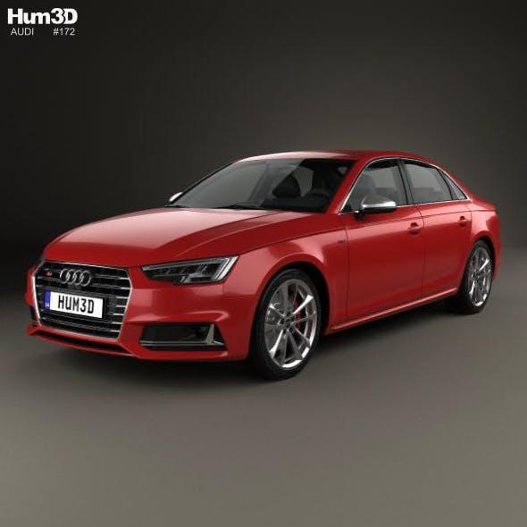 Audi S4 2016 - 3DOcean Item for Sale