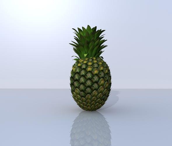 Pineapple 3D Model - 3DOcean Item for Sale