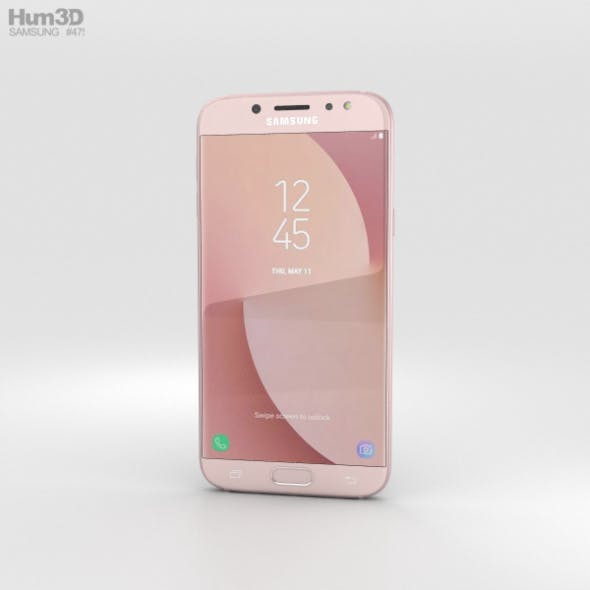Samsung Galaxy J7 (2017) Pink - 3DOcean Item for Sale